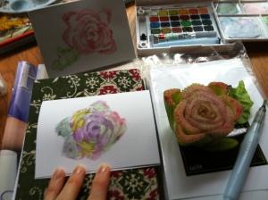 "My vegetable art-  ""celery"""